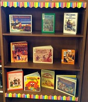 Thanksgiving Books on Display!