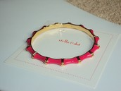 $10 julep pink bangle