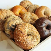 Our Bakery has the best bagels and fresh bread in town!