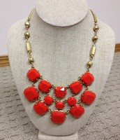 OLIVIA BIB NECKLACE $55