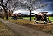 """Day 2: March 14 Went to: Part of The National Battlefield Park """"Plains of Abraham"""""""