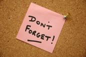 CPDU Reminders
