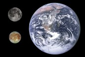 Europa Compared to Earth and the Moon
