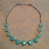 Somervell Necklace (Aqua)