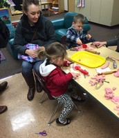 Families felt incredibly welcomed and engaged at Peek into Preschool