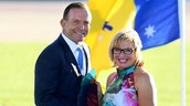 photo of rosie batty and tony abbot