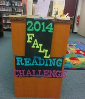Fall Reading Challenge ends 12/15