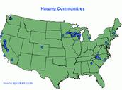U.S. Hmong Refugee Settlement Communities