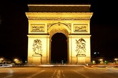 Where is the Arc de Triomphe?