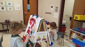 Art Easel Painting