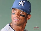 Russell Wilson in high school baseball.