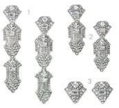 Casablanca Earrings Silver