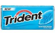 Wintergreen gum