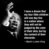 """The """"I Have A Dream Speech"""""""