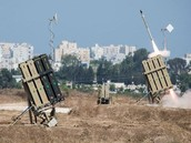 Iron Dome system in action.