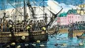 The Boston Tea 1773