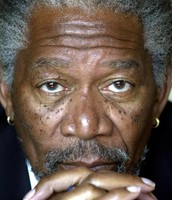 Morgan Freeman As The President