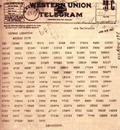 Zimmerman Telegram - January 1917