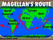 The Route Magellan took