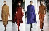 Monochromatic clothing