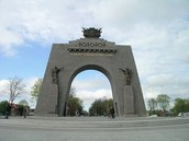 the victory arch