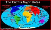 Major Tectonic Plates
