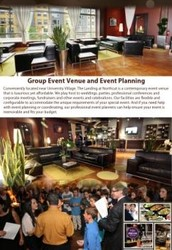 Group Event Venue and Event Planning