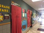 100 days of School-1st grade hallway