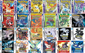 Pokémon game history