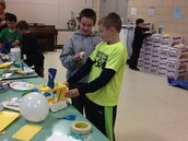 Monday Science Program Week #5 - Butter and Boat Making!