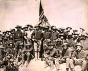 Teddy Rooselvelt and his Rough riders
