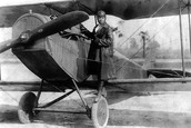 Bessie and her plane