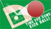 Teachers vs. Moms Kickball Game