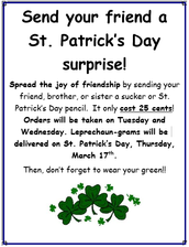 St. Patrick's Day Grams