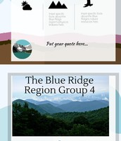 Blue Ridge Region - Group SC History Project