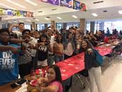 Class of 2017 Showing Spirit
