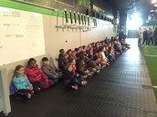 4th Grade goes to Cross Fit Gym for fieldtrip