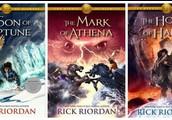 the heros of olympus series by rick riordan