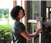 Please read about our new front door system