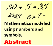 Abstract: Using Symbols to Communicate Math Process