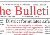 "The first edition of the first Employee Newsletter called ""The Bulletin"""
