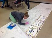 Mrs. Block's interactive art murals