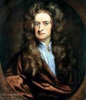 Sir Isaac Newton as a 22 year old.