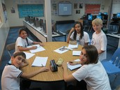Mentoring my PYP Exhibition group.