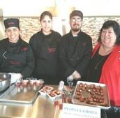 "TJHS Culinary Arts Students Earn ""Peoples' Choice"" Award"
