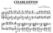 """Song One: """"Charleston"""" by Cecil Mack and James P. Johnson"""