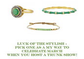 FREE GREEN...Luck of the Stylish!