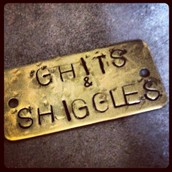Hand stamped metal