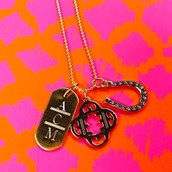 Personalized charm necklace!