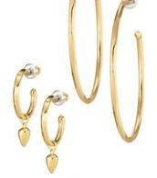 Orbit Hop Earrings - Gold